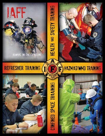 HazMat/WMD Training Curricula - International Association of Fire ...