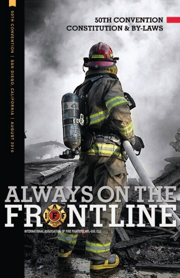 IAFF CBL (2010) - International Association of Fire Fighters