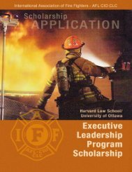 To Apply - International Association of Fire Fighters