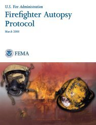 Firefighter Autopsy Protocol - US Fire Administration - Federal ...