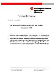 Der Arbeitsmarkt in Gelsenkirchen und Bottrop im Januar 2013 - IAG ...