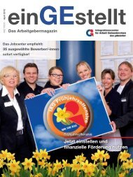 einGEstellt, Ausgabe Nr.2 April 2012 - IAG Gelsenkirchen
