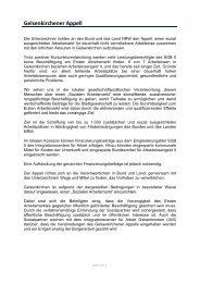 Gelsenkirchener Appell - IAG Gelsenkirchen