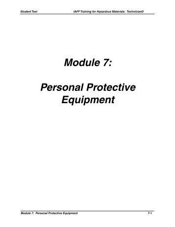 Module 7 - IAFF