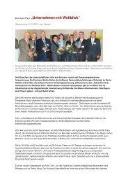 """Best Ager-Preis """"Unternehmen mit Weitblick"""" - IAG Gelsenkirchen"""