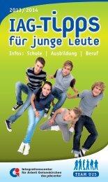 Tipps für junge Leute - IAG Gelsenkirchen