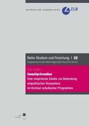 Gewaltprävention - KOBRA - Universität Kassel