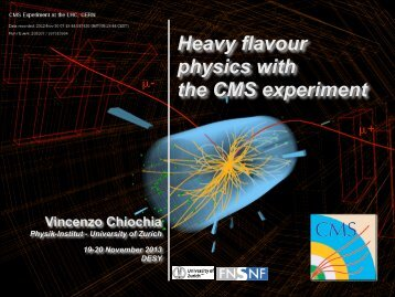 Slides - Physics Seminar - Desy