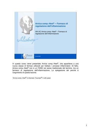 Arnica comp.-Heel® – Farmaco di regolazione dell'infiammazione