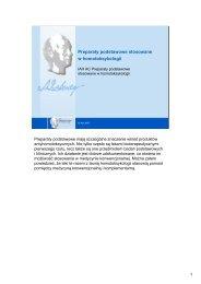 Preparaty podstawowe stosowane w homotoksykologii