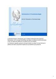 Introduction à l'homotoxicologie