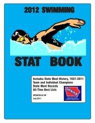 2012 swimming stat book - Iowa High School Athletic Association