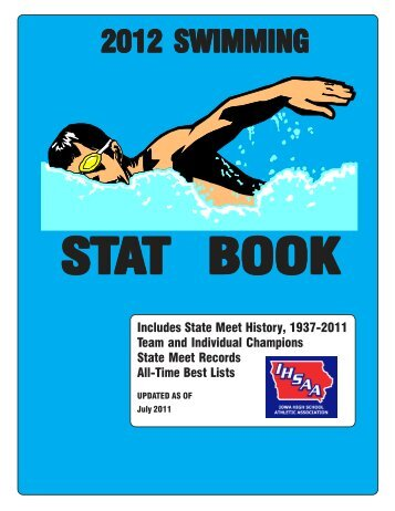 2012 swimming stat book - Iowa High School Athletic Association