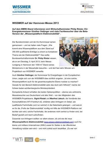 zur Pressemitteilung - IAI Saarbrücken