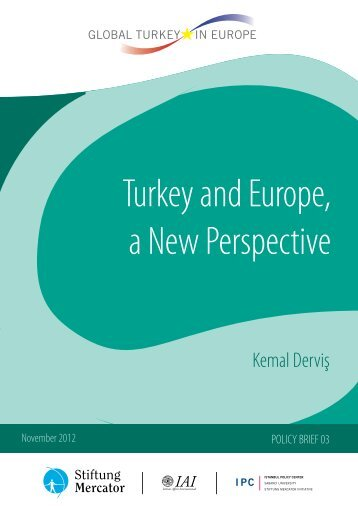 Turkey and Europe, a New Perspective