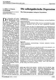 Die selbstquälerische Depression - OPUS Würzburg - Universität ...