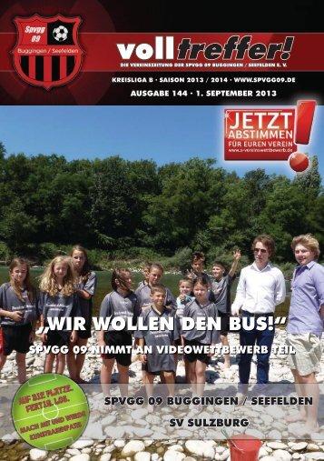 Volltreffer! Ausgabe 144 - spvgg09.de