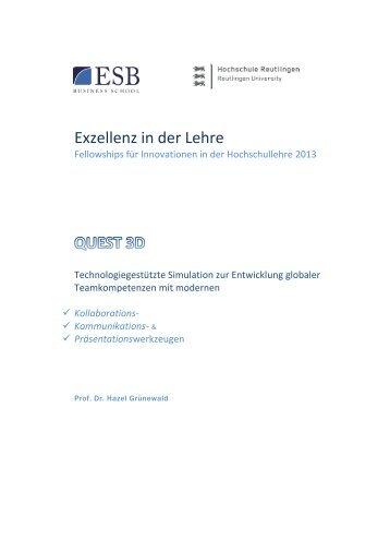 Exzellenz in der Lehre - Stifterverband für die Deutsche Wissenschaft
