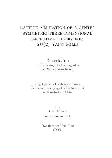 Lattice Simulation of a center symmetric three dimensional effective ...