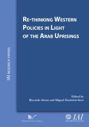 Re-thinking Western Policies in Light of the Arab Uprisings