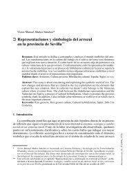 Representaciones y simbología del arrozal en la provincia de Sevilla**