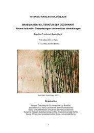 Tagungsprogramm (Stand: Dezember 2012) - Ibero-Amerikanisches ...