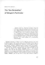 of Sahagún's Psalmodia