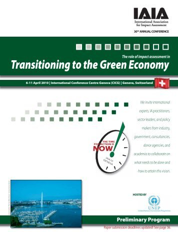 Transitioning to the Green Economy - International Association for ...