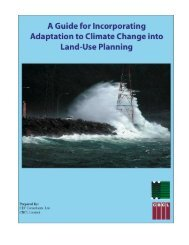 A Guide for Incorporating Adaptation to Climate Change into Land ...
