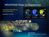 GIS and Climate Change - International Association for Impact ...