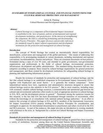 Peer Reviewed Paper [PDF] - International Association for Impact ...