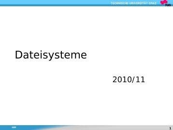 Dateisysteme
