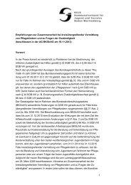 1 Empfehlungen zur Zusammenarbeit bei kreisübergreifender ...