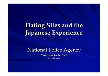 Dating Sites and the Japanese Experience