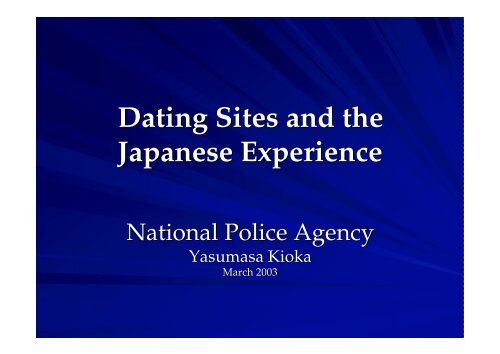 national dating agency