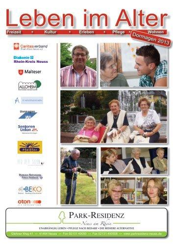 Seniorenwegweiser der Stadt Dormagen