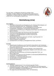 Heimleitung (m/w) - Radolfzell
