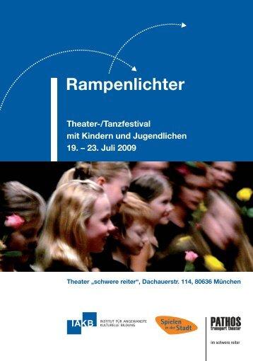 Festivalprogramm 2009 - Rampenlichter