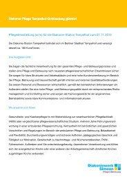 Pflegedienstleitung (w/m) für die Diakonie-Station Tempelhof zum ...