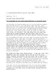 Solidarisches Deutschland - SPD