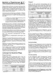 Merkblatt zu Pflegeleistungen §§ 37 - 39 ... - bdzwestfalen.de