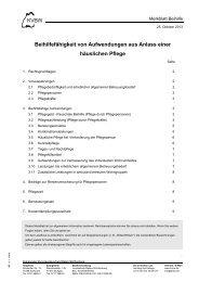 Info über häusliche Pflege - Kommunaler Versorgungsverband ...