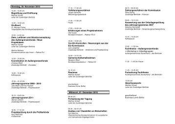 Programm - Informationsveranstaltung zum ... - Bundespolizei