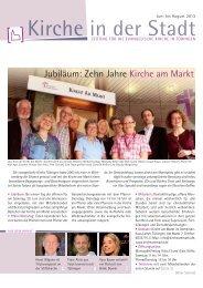 Jubiläum: Zehn Jahre Kirche am Markt - Evangelischer ...