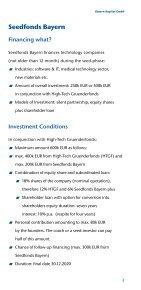Financing Innovation - Bayern Kapital - Page 3
