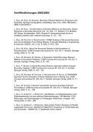 WS 2002/2003 - Institut für Angewandte und Experimentelle Mechanik