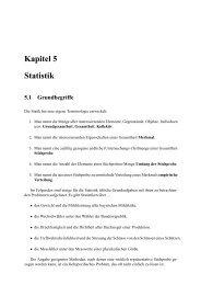 Kapitel 5 Statistik