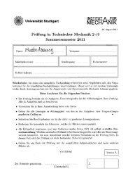 Sommersemester 2011 - Institut für Angewandte und Experimentelle ...
