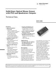 Solid-State Optical Mouse Sensor with PS/2 and ... - The IAMMP