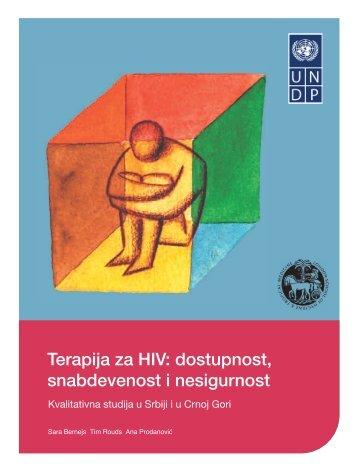 Terapija za HIV: dostupnost, snabdevenost i nesigurnost - UNDP in